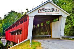 Spencerville Covered Bridge